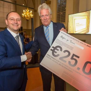 Bergen op Zoom wint BNG-Bank Erfgoedprijs 2014. foto: BNG-Bank Erfgoedprijs