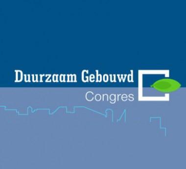Duurzaam Gebouwd congres logo Foto: duurzaamgebouwdcongres.nl