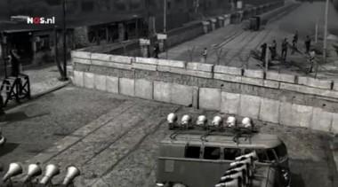 bouw berlijnse muur Foto: ZDF via NOS