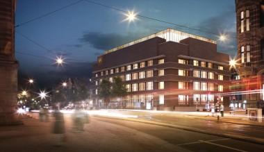 Rijkskantoorgebouw voor Geld- en Telefoonbedrijf Foto: Office Winhov