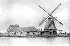 Oliemolen de Pauw Foto: onbekend via Duizend Zaanse molens