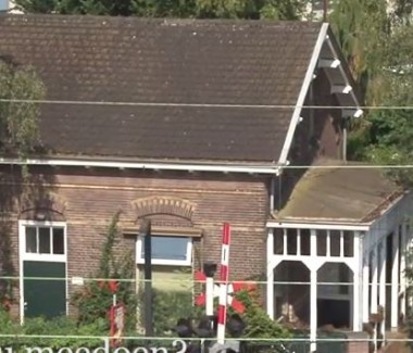Stationschef Woning Bilthoven, Foto: still youtube