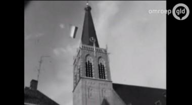 Filmbeelden resturatie Catharinakerk in Doetinchem