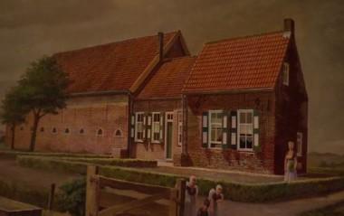 Schilderij boerderij Foto: Omroep Zeeland