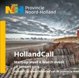 HollandCall Noord Holland Foto: Provincie Noord-Holland