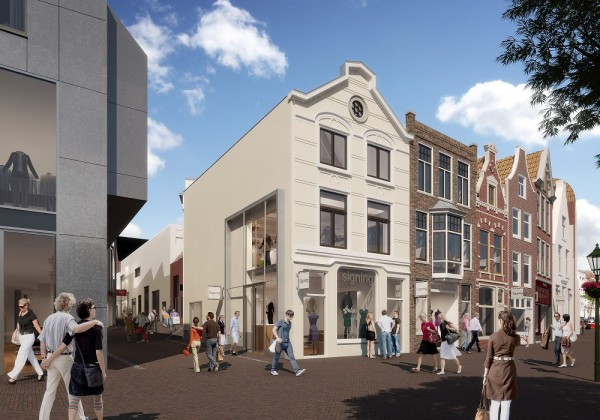 Aalmarkt, Leiden Foto: Rijnboutt via architectenweb