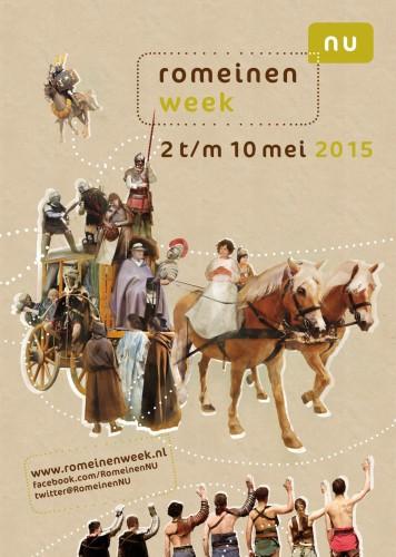 Campagne beeld Romeienweek 2015. Beeldrecht RomeinenNU