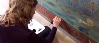 Wandschildering Joke Smit Amsterdam