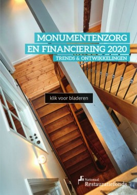 Monumentenzorg & financiering in 2020 Foto: restauratiefonds.nl