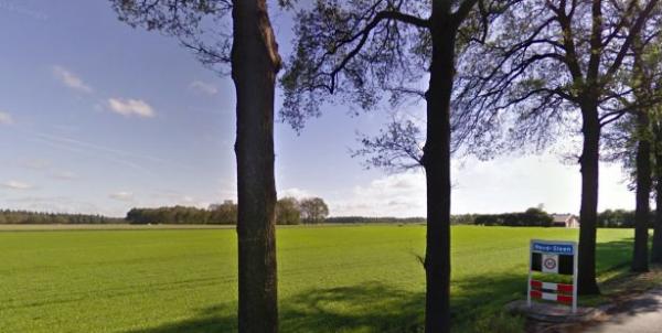De Zweeloërstraat bij Noord-Sleen foto: Google Street View