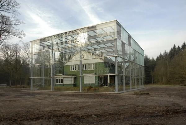 Opzichterswoning Westerbork. Foto Susan Schuls via Platform VOER