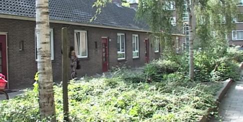 Piggelmeewoningen Amsterdam Foto: Buurttelevisie Amsterdam-West via Youtube