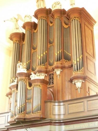 Orgel Grote Kerk Den Bosch Foto± Wisgerhof  via reliwiki