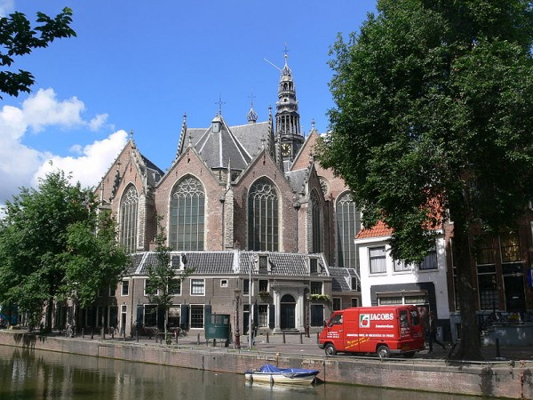 De Oude Kerk in Amsterdam