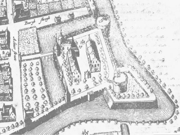 Kasteel Wageningen in 1654