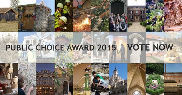 Europa Nostra Public Choice Award Foto Europa Nostra