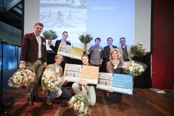 Winnaars Winkelstrip prijsvraag Foto: RCE