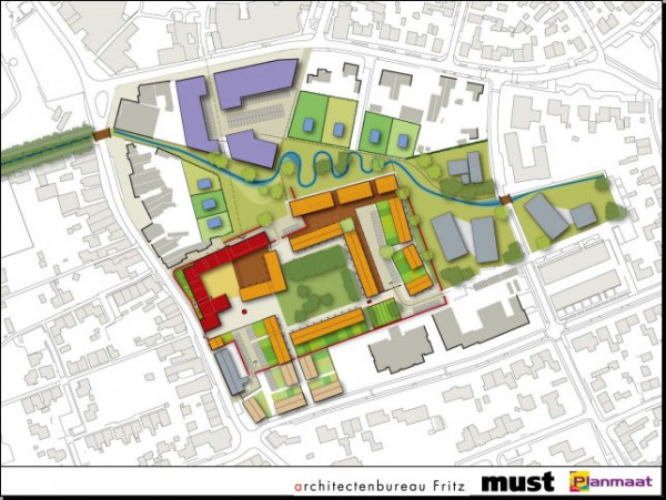 Plannen woningbouw Nazareth Gemert Foto: Gemeente Gemert