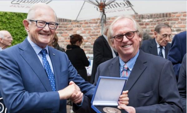Uitreiking Ton Kootpenning  2015 prof mr Pieter van Vollenhven