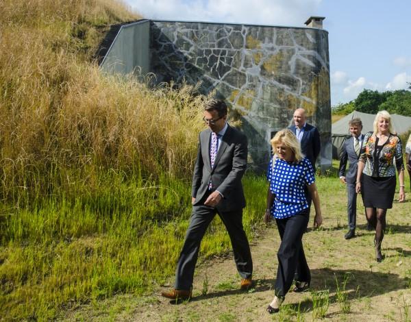 Opening Fort Kijkuit 2 Foto: Ralf van Vegten via Natuurmonumenten