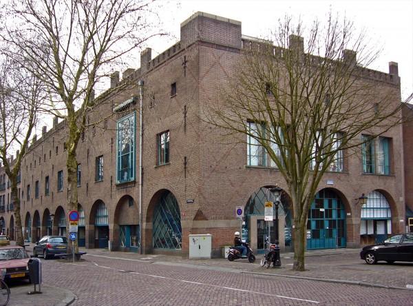 Van Boekhoven-complex, Utrecht Foto: Mitros via duic.nl