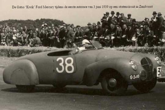 Gatso 'Kwik' Ford Mercury Foto van Museum van Loon