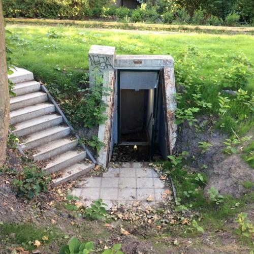 Schuilkelder Museumpark, Rotterdam Foto: erfgoedkoudeoorlog.nl