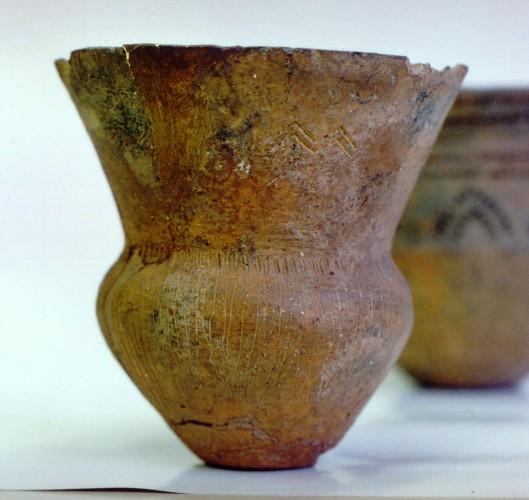 Trechterbeker, een van de vondsten in Dalfsen Foto: Evert van Ginkel