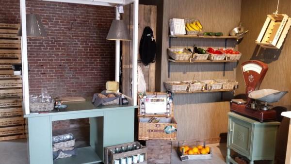 Een beeld van de molenwinkel 'Ambacht' in molen De Roos Foto: Gaston Badoux via De Hollandsche Molen