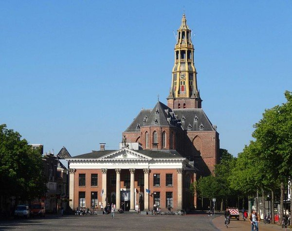 De monumentale A-kerk Groningen