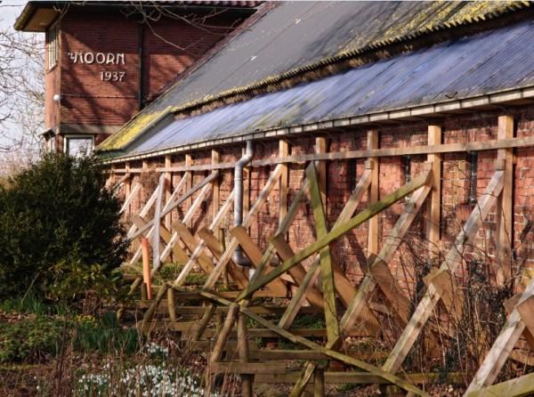 Boerderij Groningen gestut na aardbevingsschade