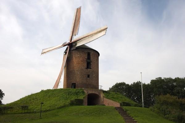 De Grafelijke Korenmolen van Zeddam (Gld.), de oudste molen van Nederland met hoge monumentale waarden Foto: Wim Giebbels via De Hollandsche Molen