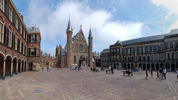 Het Binnenhof in Den Haag
