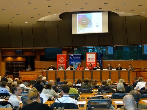 Meeting van het EP Intergroup in het Europees Parlement Foto: Europa Nostra