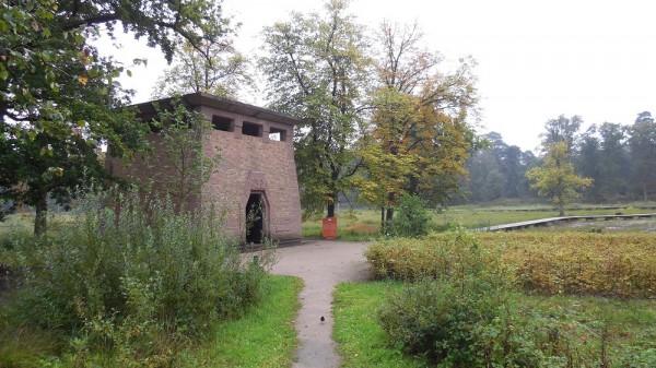 Pomphuisje Foto: Stichting Het Nationale Park De Hoge Veluwe via architectenweb