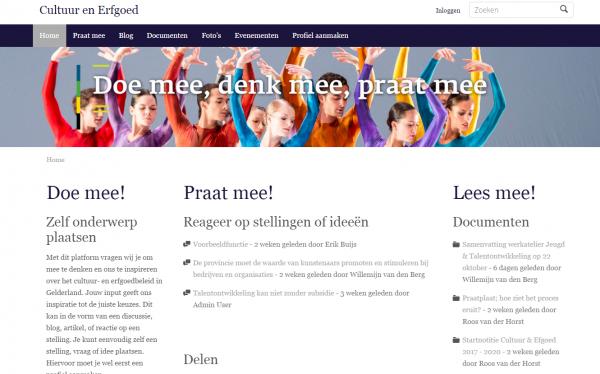Cultuur en Erfgoed, Gelderland