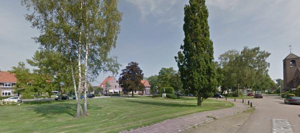Van Reenenpark, Nijkerk Foto: Google maps