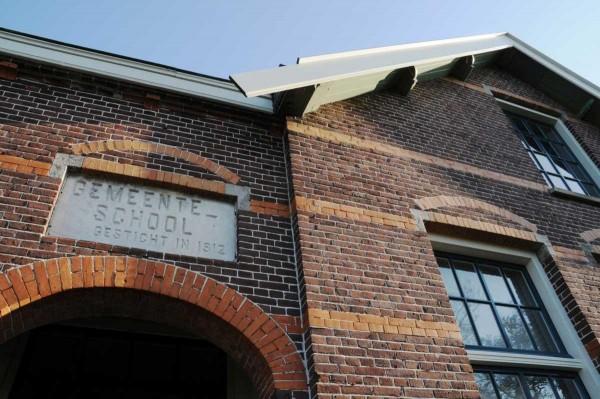 Gemeente school Foto: Nationaal Restauratiefonds