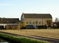 Bollenschuur van Ruigrok, Hillegom  Foto via CultuurHistorisch Genootschap Duin- en Bollenstreek