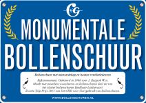 Schildje, Zwarte Tulp Prijs Foto via CultuurHistorisch Genootschap Duin- en Bollenstreek