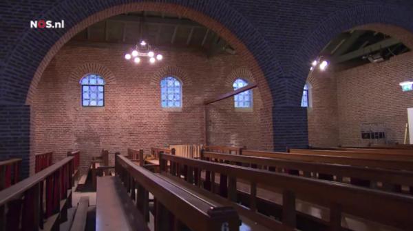Kerkenleegstand Beeld: NOS