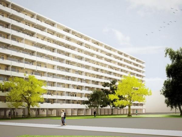 Kleiburg/ De Flat, Amsterdam Foto: NL Architects