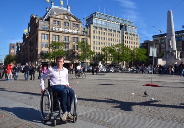 Christiaan Zandstra in Amsterdam Foto: Heemschut