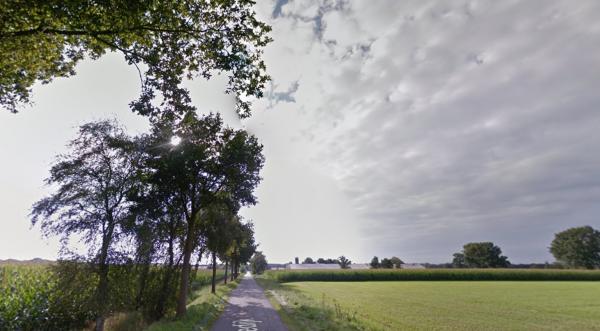Roovertsedijk, Hilvarenbeek Foto: Google Maps