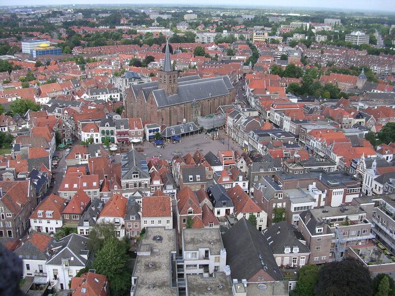 De binnenstad van Amersfoort