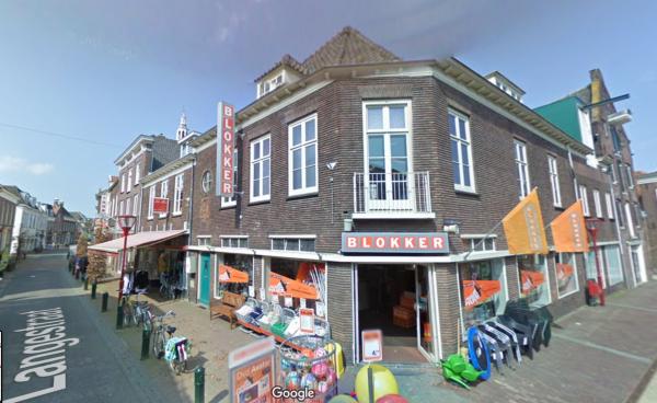 Langestraat, Nijkerk Foto Google Maps