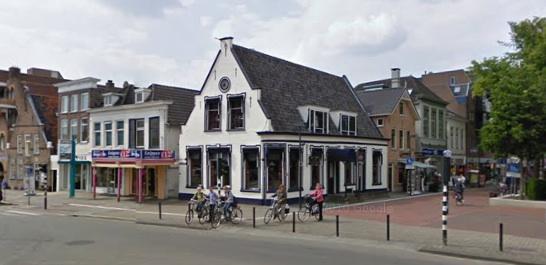 Binnenstad Hoogeveen Foto via monumentje!