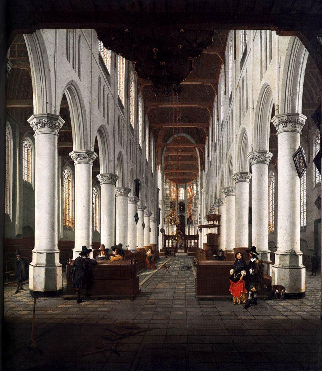 Pleidooi voor stucen nieuwe kerk delft voor betere akoestiek de erfgoedstem - Van plan interieur ...