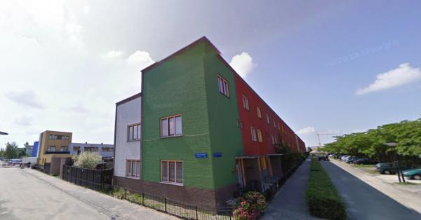 Regenboogbuurt, Almere Foto: Google Maps