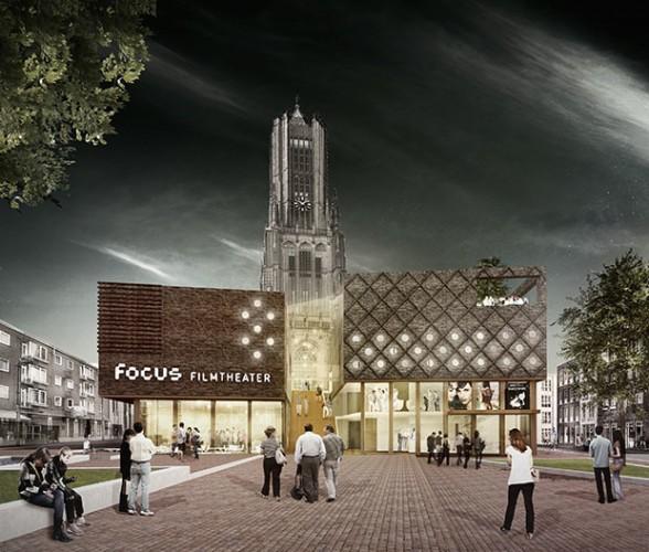 Eusebiuskerk met filmhuis Beeld: DP6 via gemeente Arnhem